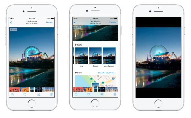 Efectos en iOS 11