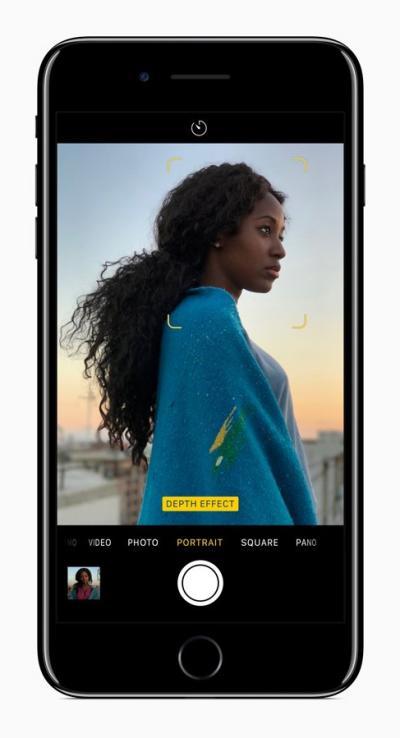 Modo Retrato en iOS 11