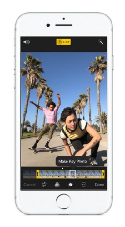 editar fotos en iOS 11