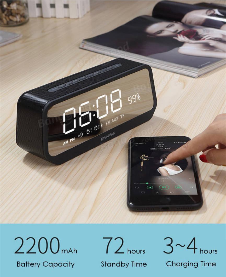 Sansui Mirror LED y su conectividad Bluetooth