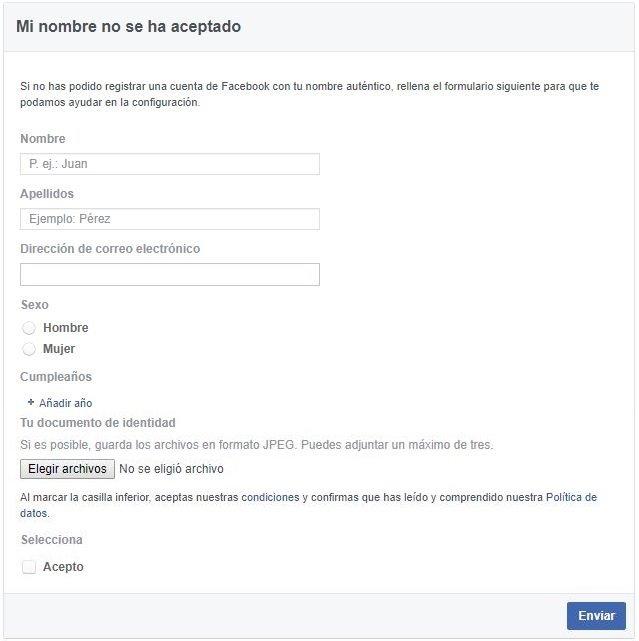 Recuperar cuenta inhabilitada de Facebook