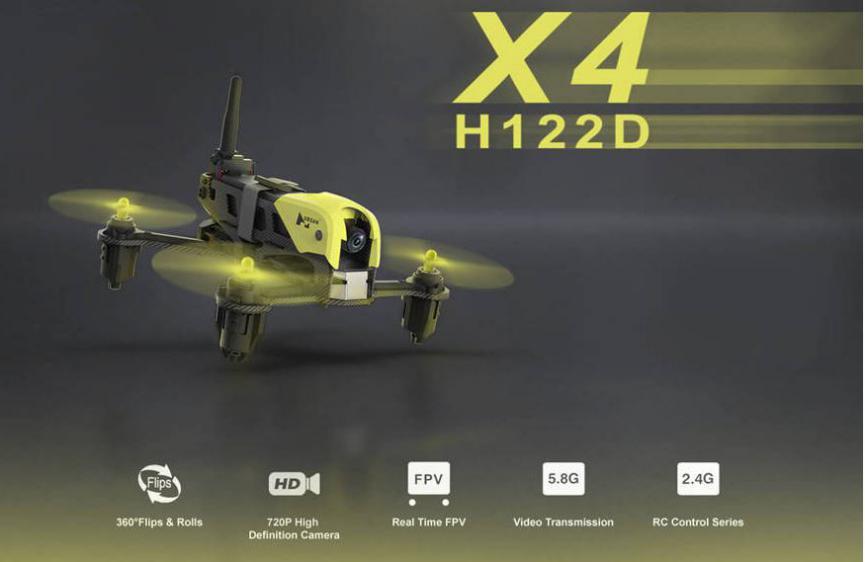 Drone Hubsan especificaciones