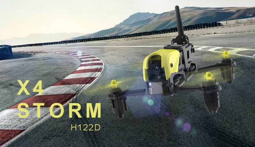 Drone Hubsan retorno automatico