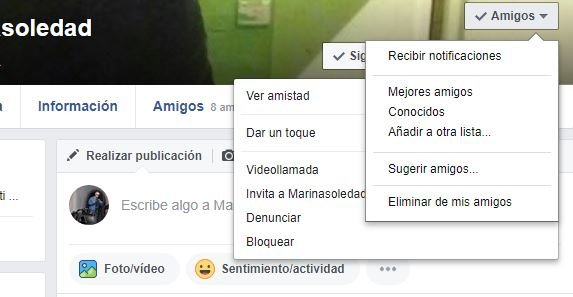 Como Bloquear Contactos Facebook