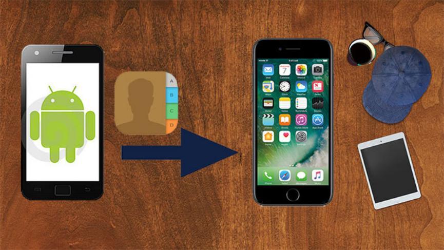 truco Android para mover contactos al iPhone