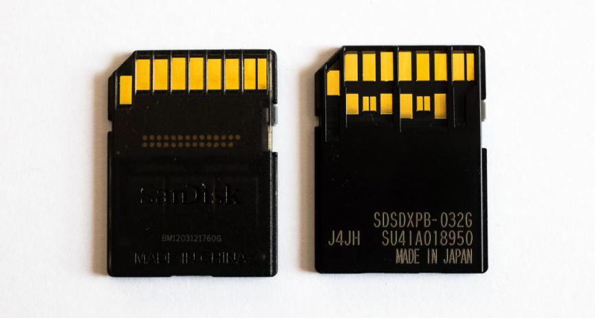 tarjeta microSD para grabar video 4k UHS-III