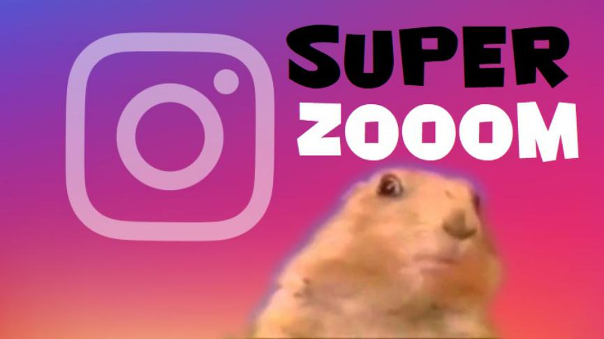 SuperZOOM de Instagram paa iPhone o Android
